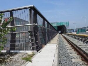 Stations Noord-Zuidlijn voorzien van RVS staalkabels door Hans Jansen Staalkabels