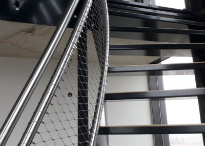 Hotel Amstelkwartier RVS staalkabelnetten 8