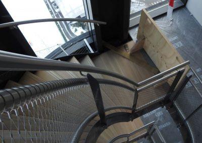 RVS staalkabelnet Amstelkwartier 30