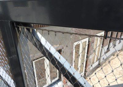 Oude School RVS kabelnet 4400
