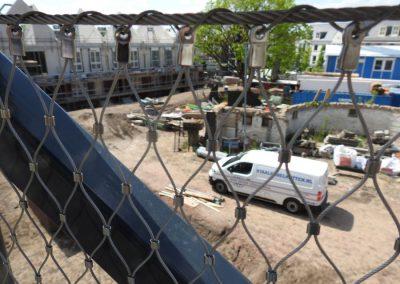 Oude School RVS staalkabelnetten 4419